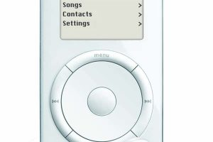 Плеер Apple iPod был представлен 15 лет назад»