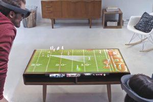 Гарнитура Hololens позволит по-новому взглянуть на спортивные матчи