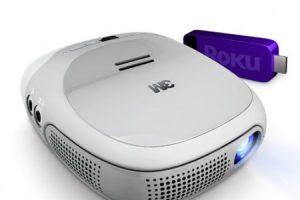 3M и Roku выпустили карманный проектор
