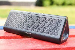 #обзор | Портативная беспроводная колонка Creative Airwave HD с поддержкой NFC