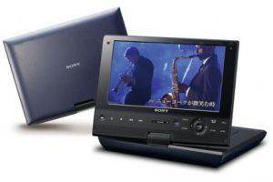 Sony запустила в продажу 9-дюймовый BD-плеер