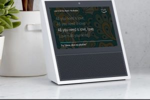 Amazon представила смарт-динамик Echo Show с поддержкой видеозвонков и воспроизведения видео YouTube»