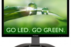 ViewSonic показала мониторы VA1912m-LED и VA2212m-LED